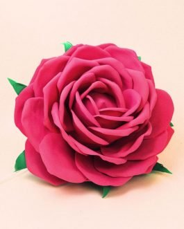 Роза. Светильник из фоамирана
