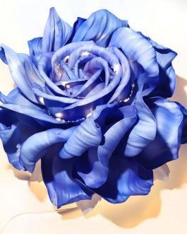 Светильник из фоамирана «Зимняя Роза»