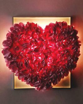 Картина сердце светящееся